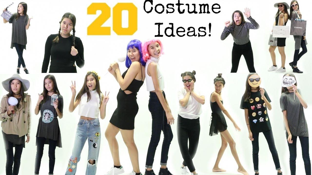 20+ easy last minute halloween costume ideas 2015 - youtube