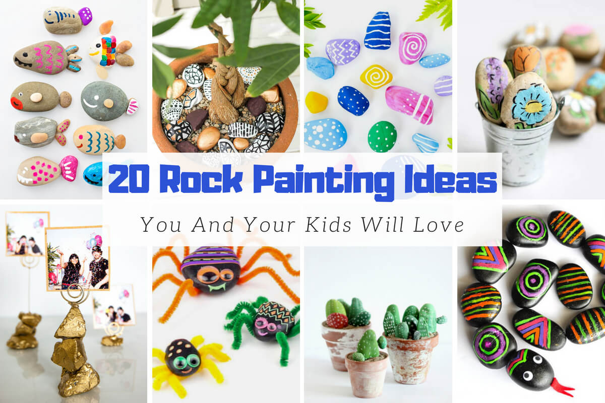 10 Fabulous Rock Painting Ideas For Kids 20 easy rock painting ideas you and your kids will love 2020