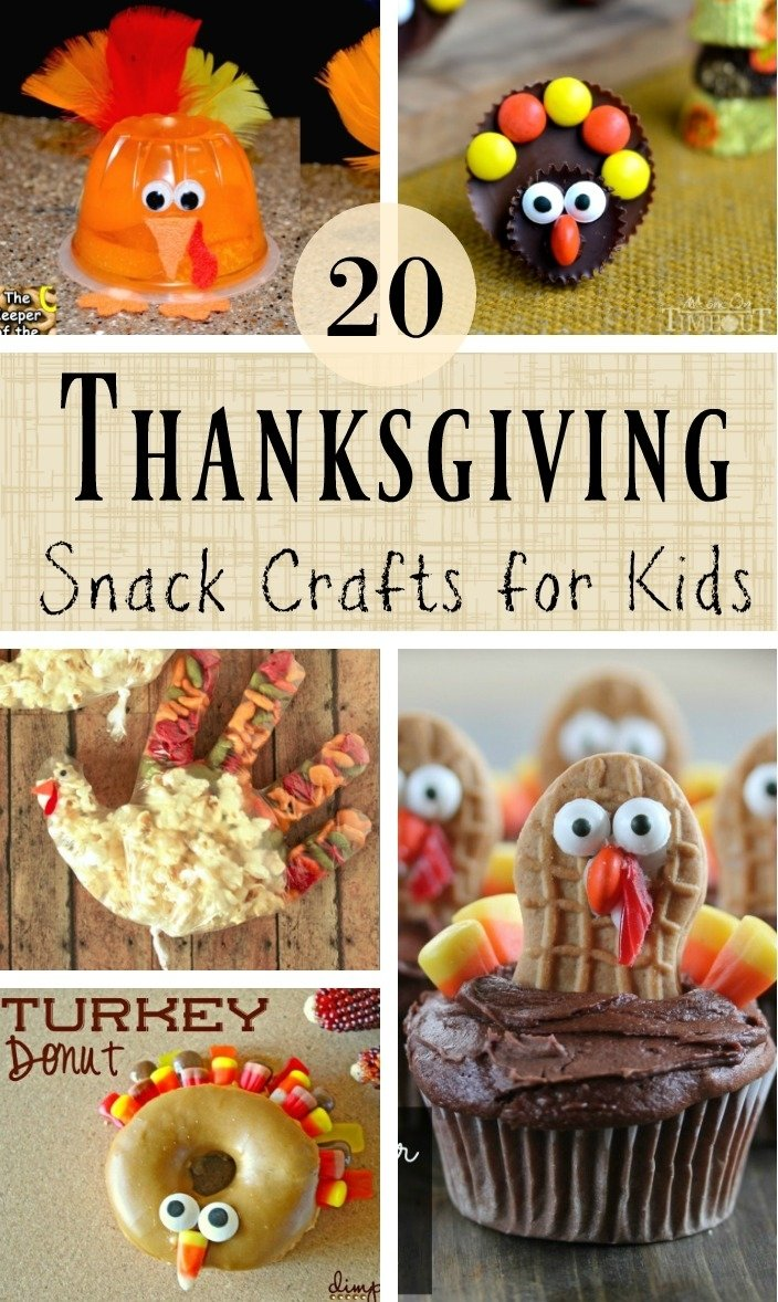 10 Ideal Thanksgiving Snack Ideas For Kids 20 edible thanksgiving crafts for kids southern made simple