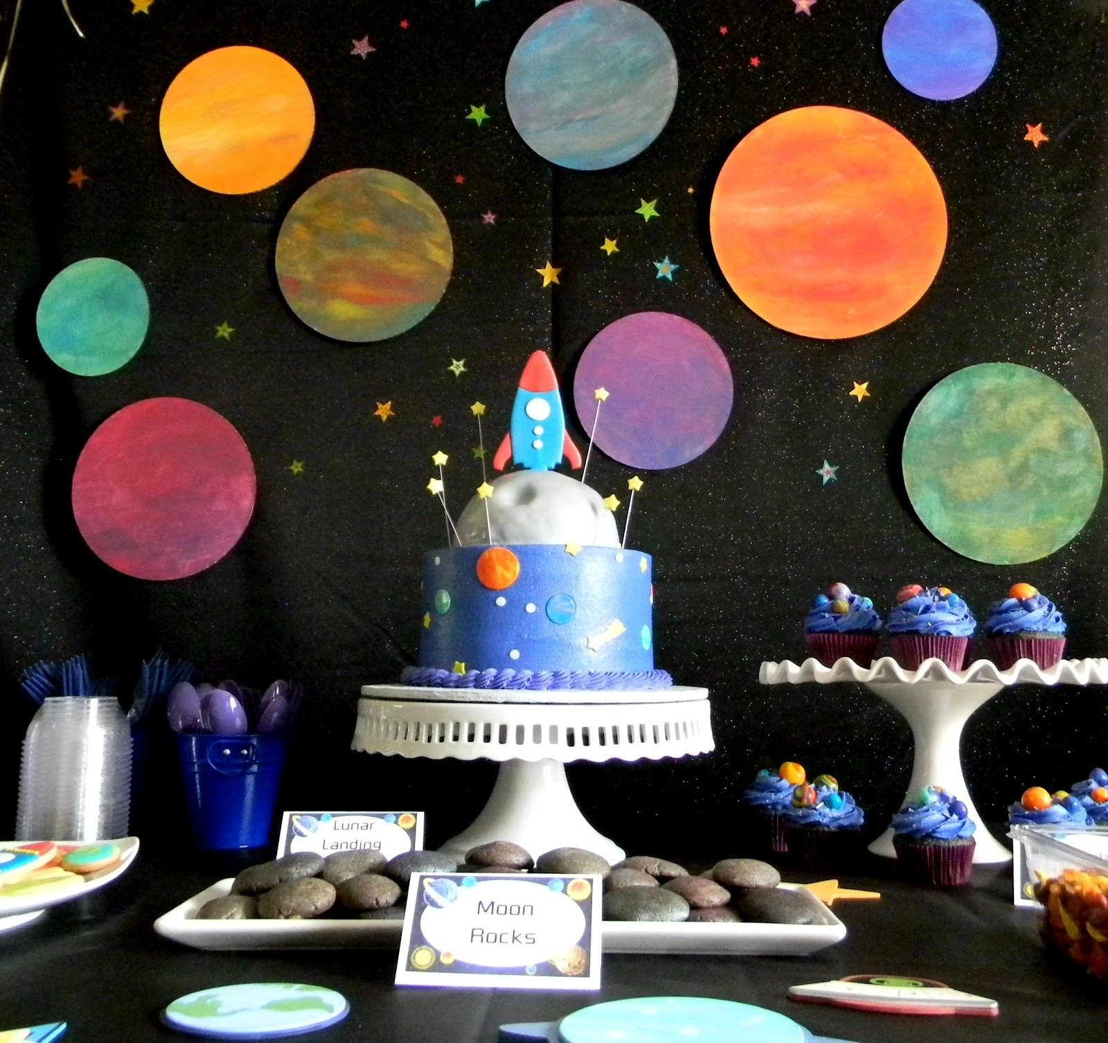 20 fabulous outer space party ideas for kids - artsy craftsy mom