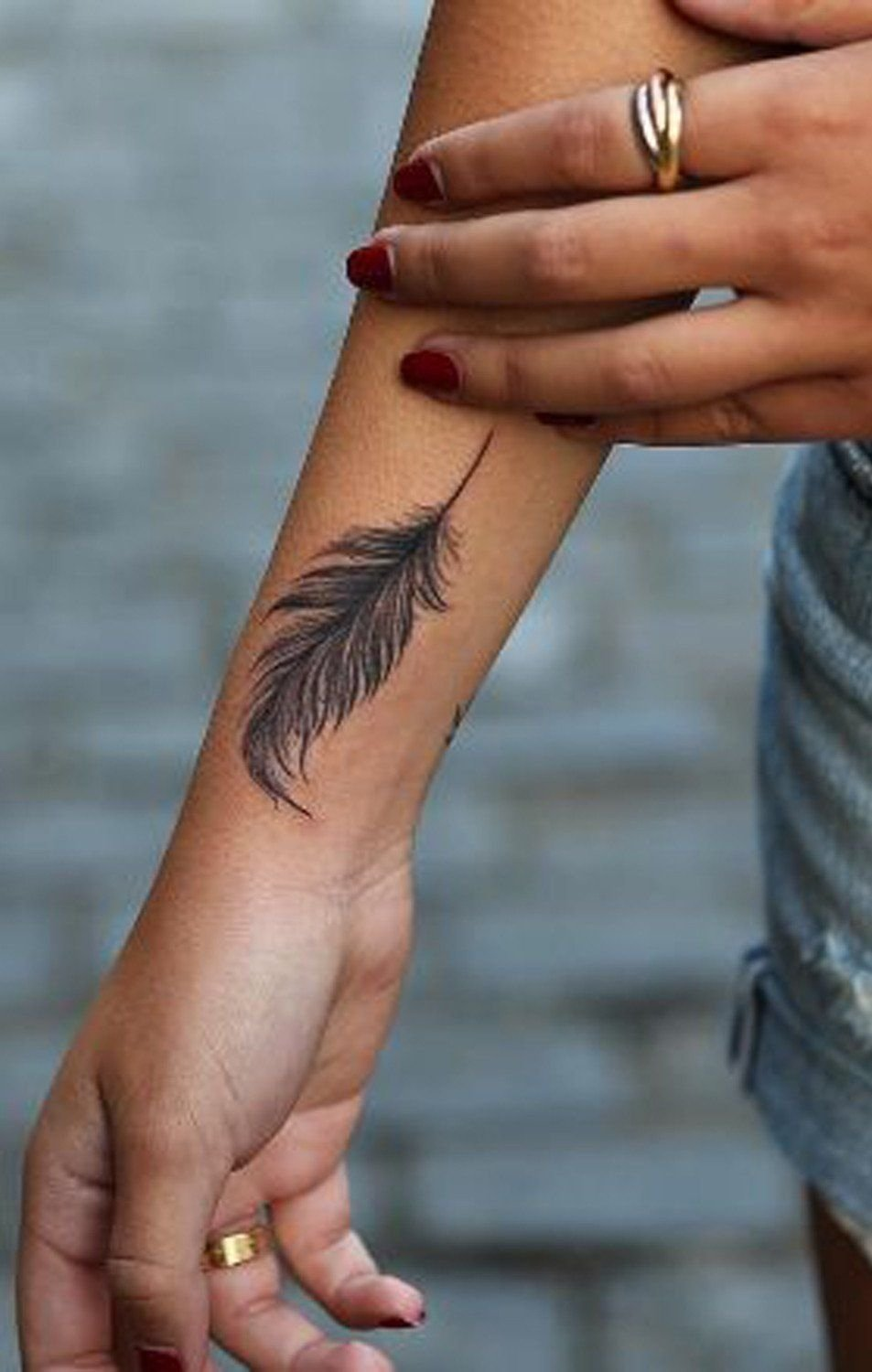 10 Fashionable Tattoo Placement Ideas For Women 20 feather tattoo ideas for women feather tattoos tatting and 2020