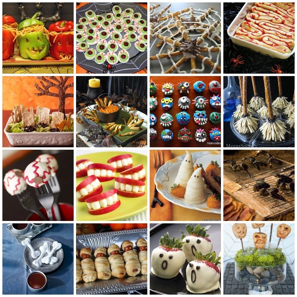 10 Great Halloween Food Ideas For Party 20 fun and spooky halloween food ideas halloween foods food ideas 10