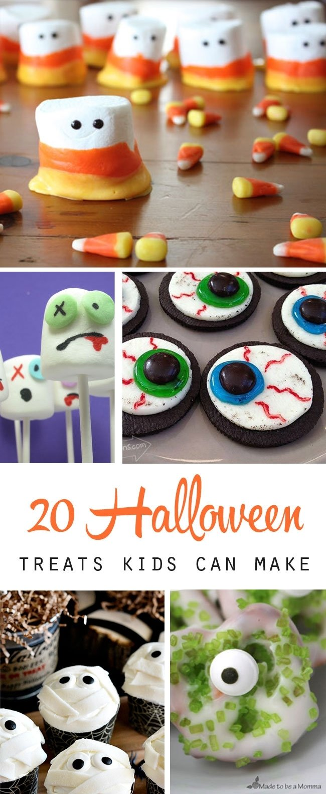 10 Cute Halloween Treat Ideas For Kids 20 fun halloween treats to make with your kids its always autumn 1 2020