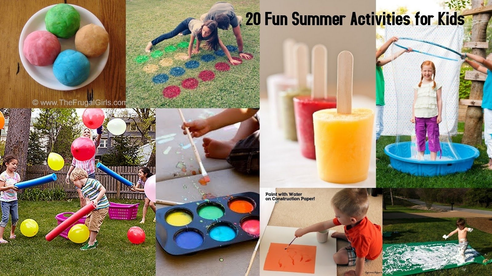 10 Most Recommended Summer Fun Ideas For Kids 20 fun summer activities for kids i dig pinterest 2020