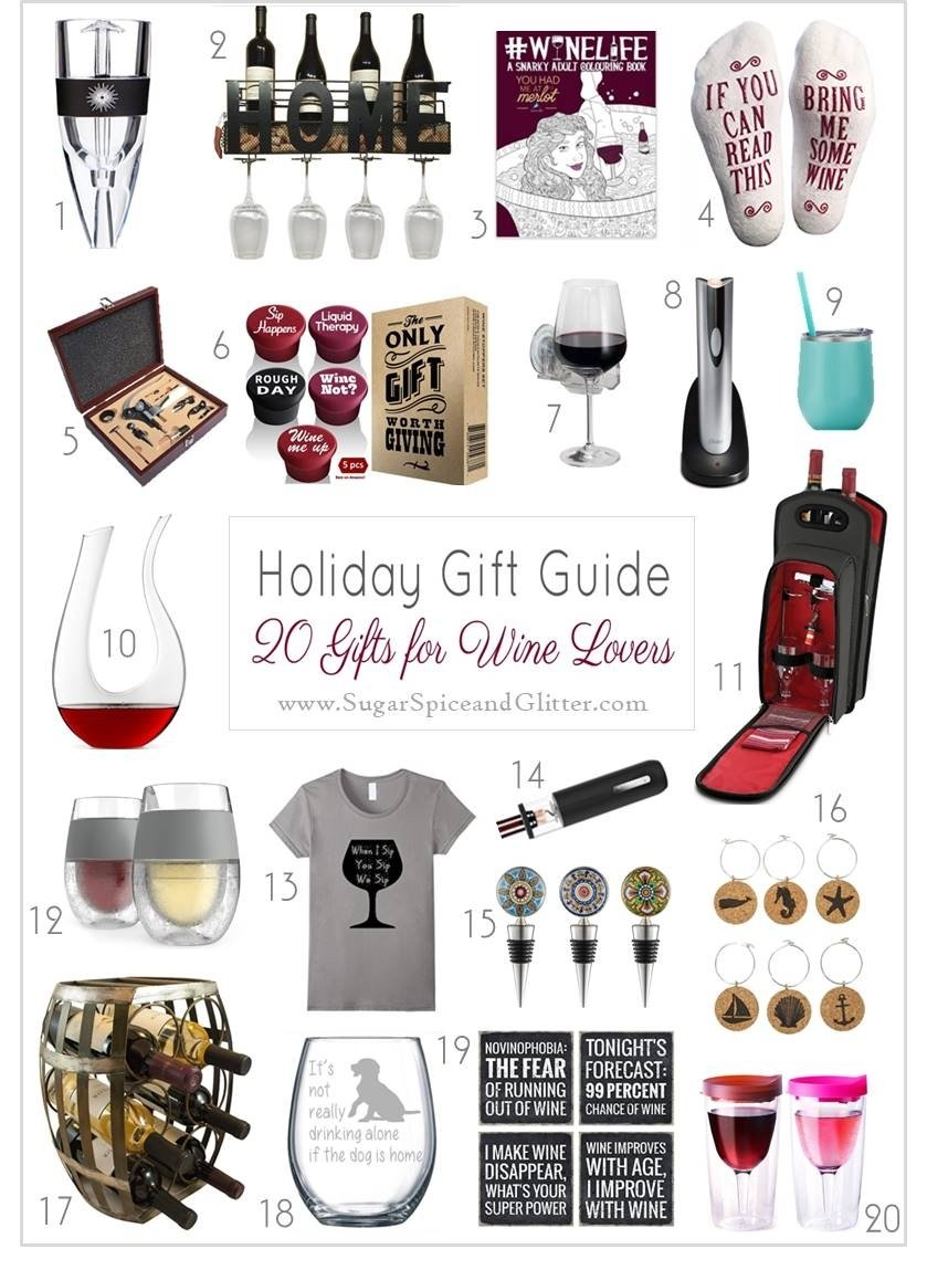 20 gifts for wine lovers ⋆ sugar, spice and glitter