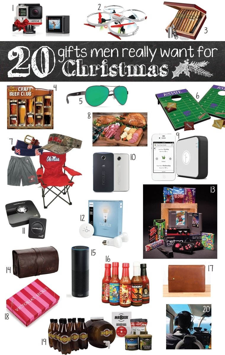 10 Attractive Ideas For Christmas Gifts For Men 20 gifts men really want for christmas gift and nice list 2020