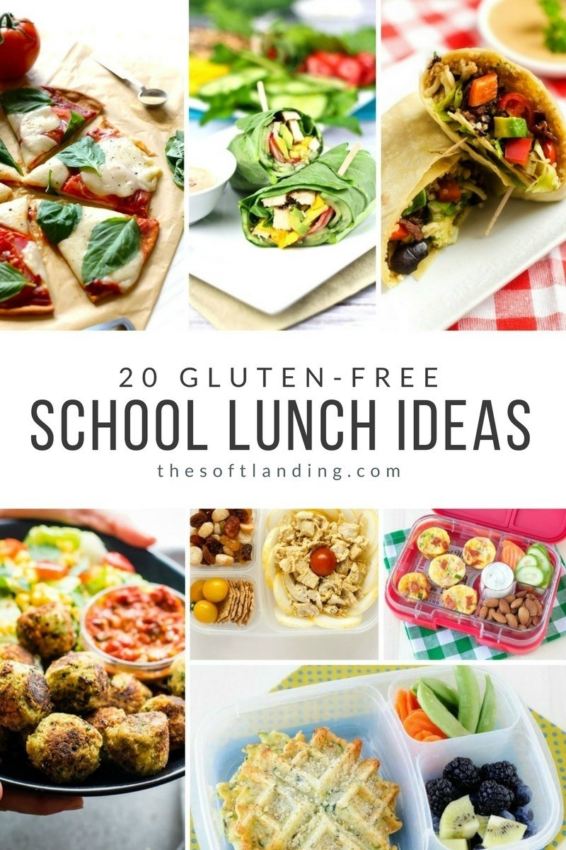 10 Stylish Gluten Free School Lunch Ideas 20 gluten free school lunch ideas the soft landing 2020