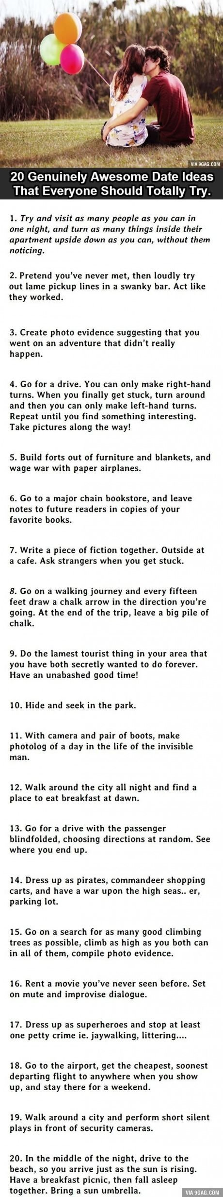 10 Attractive Date Ideas For Teenage Couples 20 great date ideas relationships random and stuffing 2021
