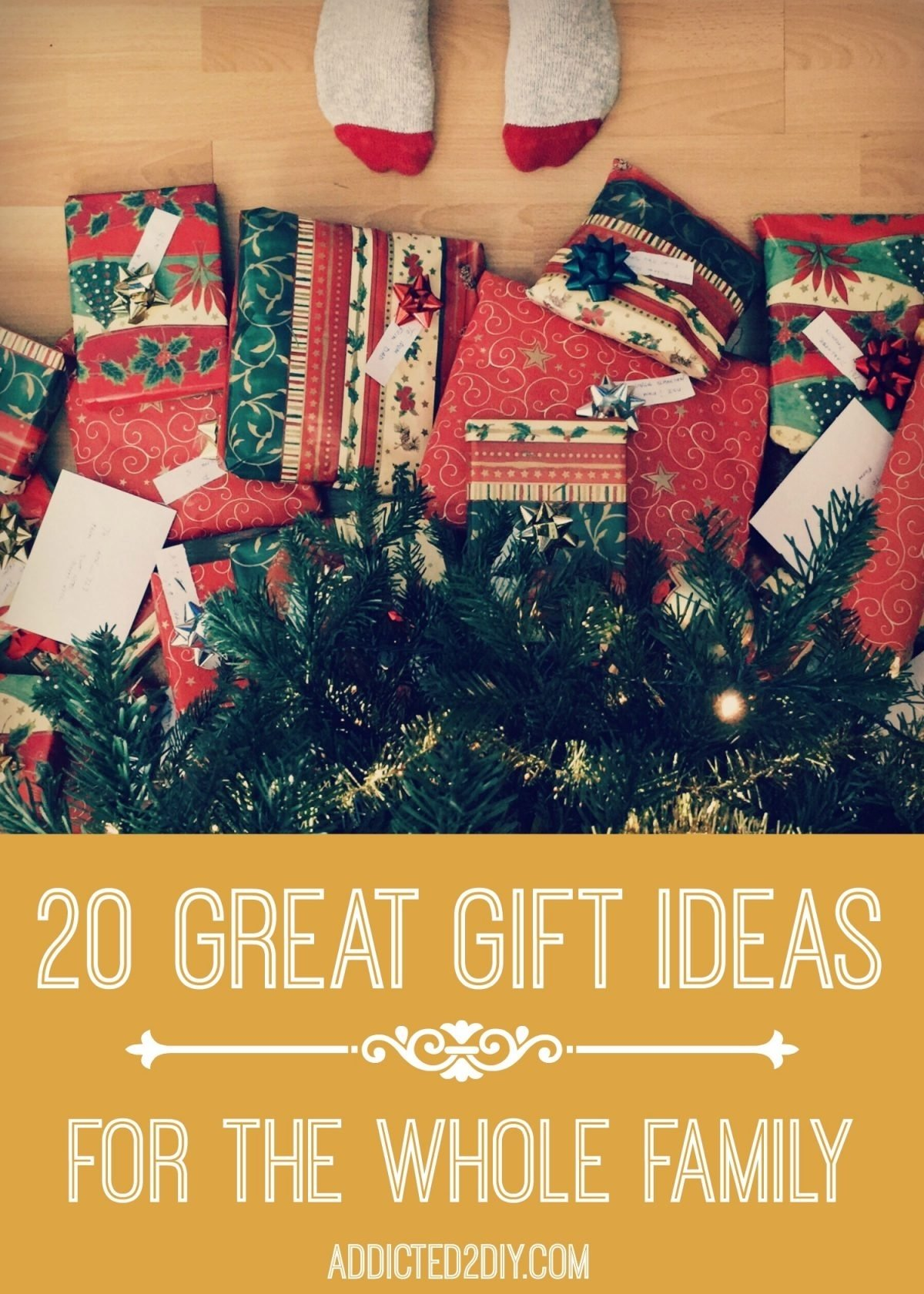 10 Lovable Christmas Gift Ideas For A Family 20 great gift ideas for the whole family addicted 2 diy 3 2020