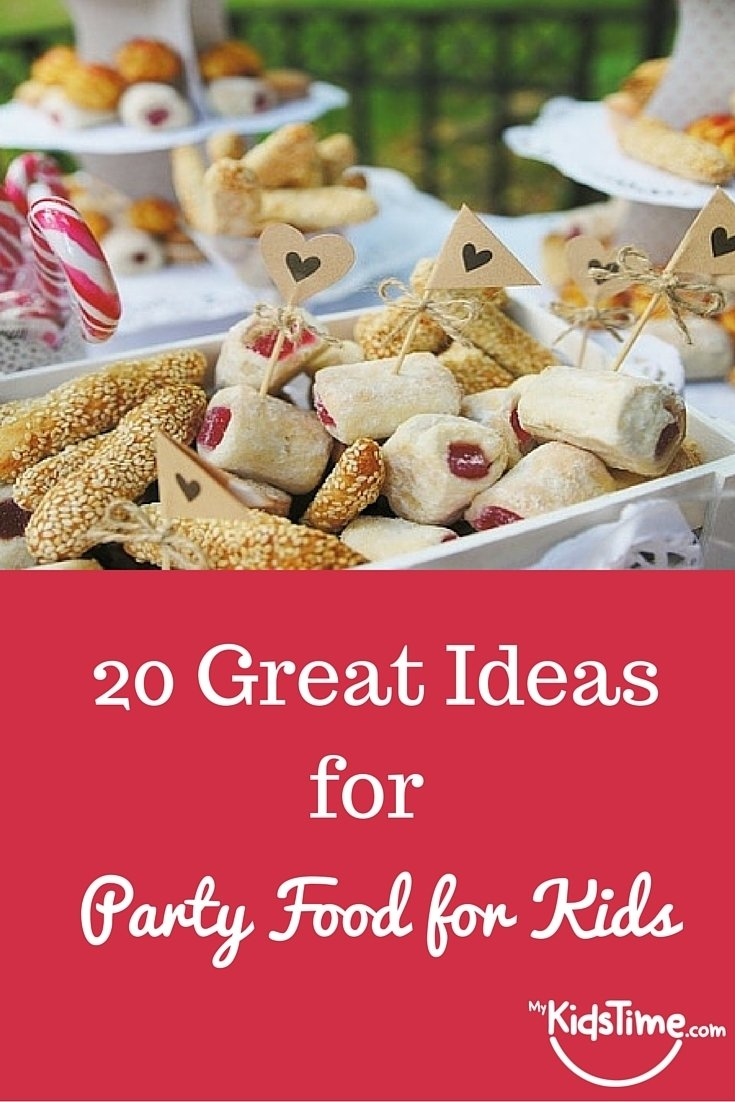 10 Beautiful Party Food Ideas For Kids 20 great party food ideas for kids 2020
