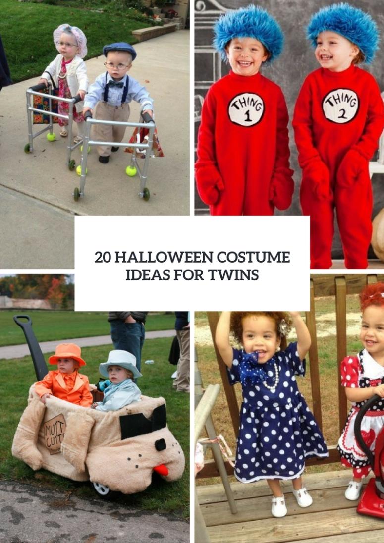 20 halloween costume ideas for twins - styleoholic