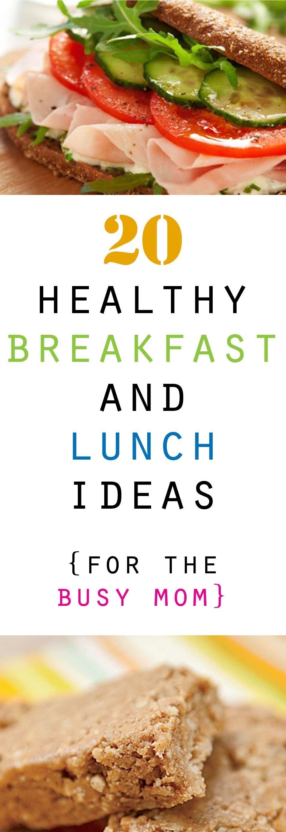 10 Attractive Healthy Breakfast And Lunch Ideas 20 healthy breakfast and lunch ideas honeybear lane 2020
