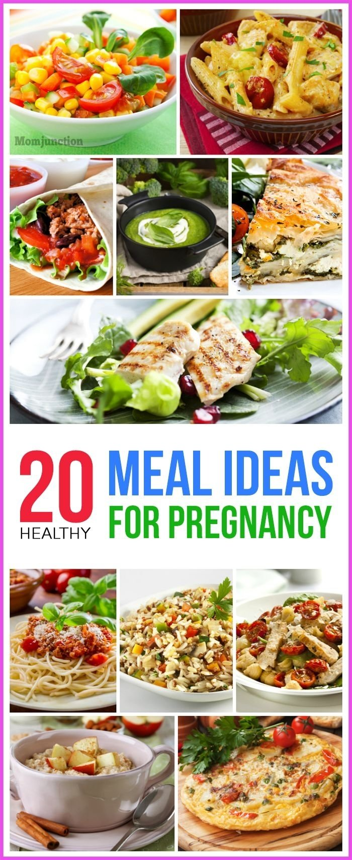 10 Nice Lunch Ideas For Pregnant Women 20 healthy meal ideas for pregnancy meals pregnancy and meal ideas 2020