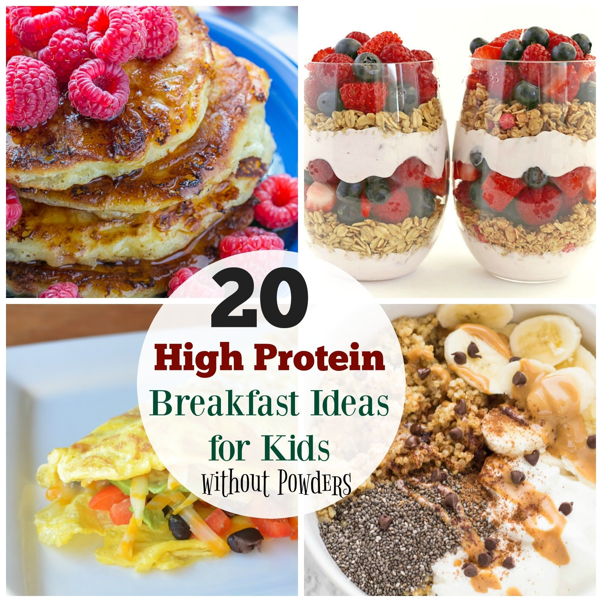 10 Trendy Good Breakfast Ideas For Kids 20 high protein breakfast ideas for kids the organized mom 2021