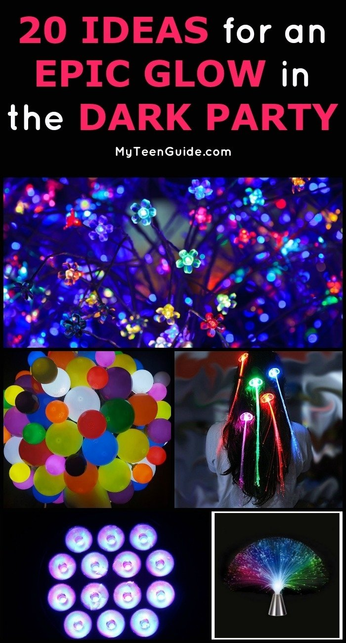 10 Elegant Glow In Dark Party Ideas 20 ideas for an epic glow in the dark party 2020