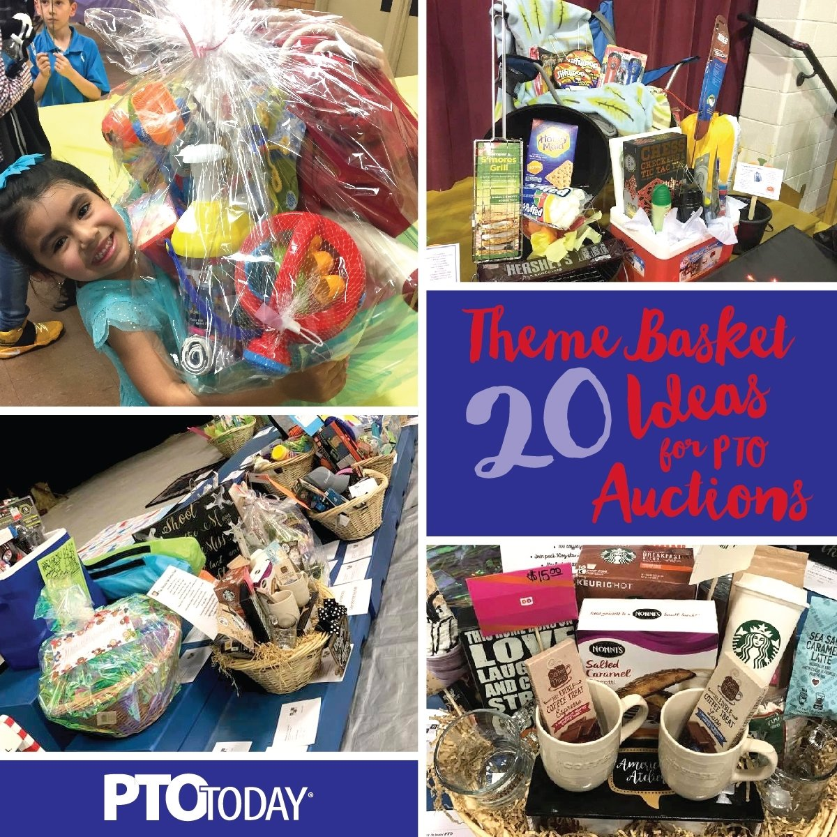 10 Cute Silent Auction Gift Basket Ideas 20 ideas for theme baskets for ptos and ptas pto today 2020