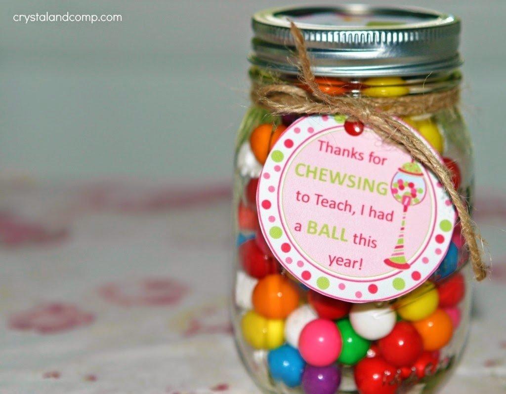 10 Attractive Teacher Appreciation Gift Ideas With Candy 20 inexpensive creative teacher appreciation gifts appreciation 2