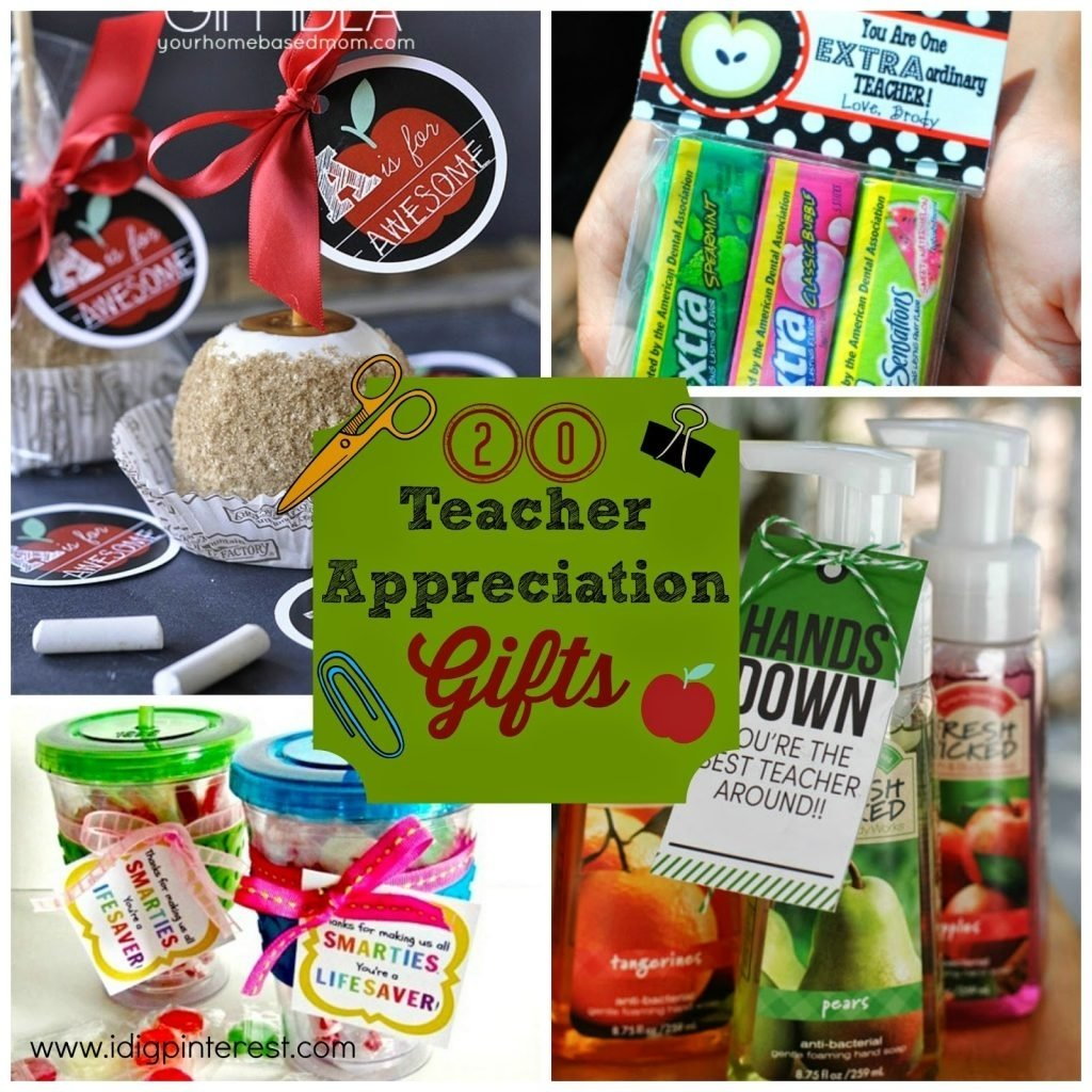 20 inexpensive & creative teacher appreciation gifts - i dig pinterest