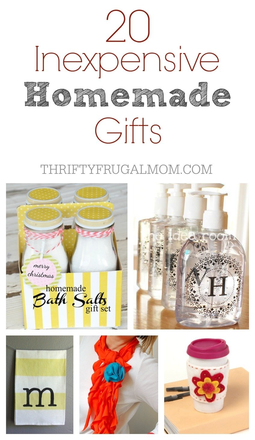 10 Beautiful Gift Ideas For The Elderly 20 inexpensive homemade gift ideas 1