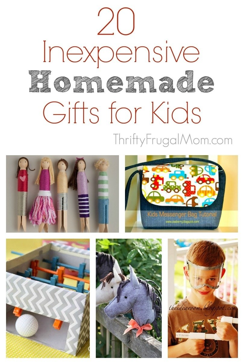 10 Stunning Christmas Gift Ideas For Kids To Make 20 inexpensive homemade gifts for kids 1 2020