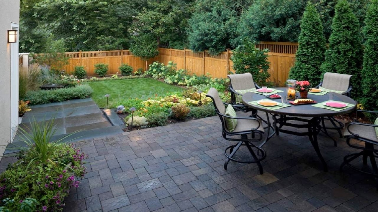10 Stylish Landscape Ideas For Small Yards 20 landscaping ideas front and backyard landscape design youtube
