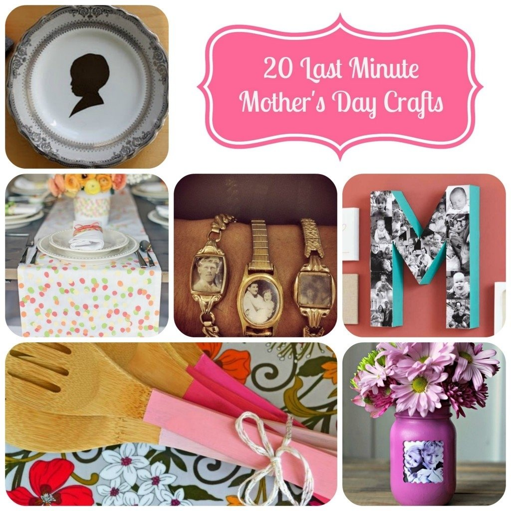 20 last minute mother's day crafts | simply being mommy