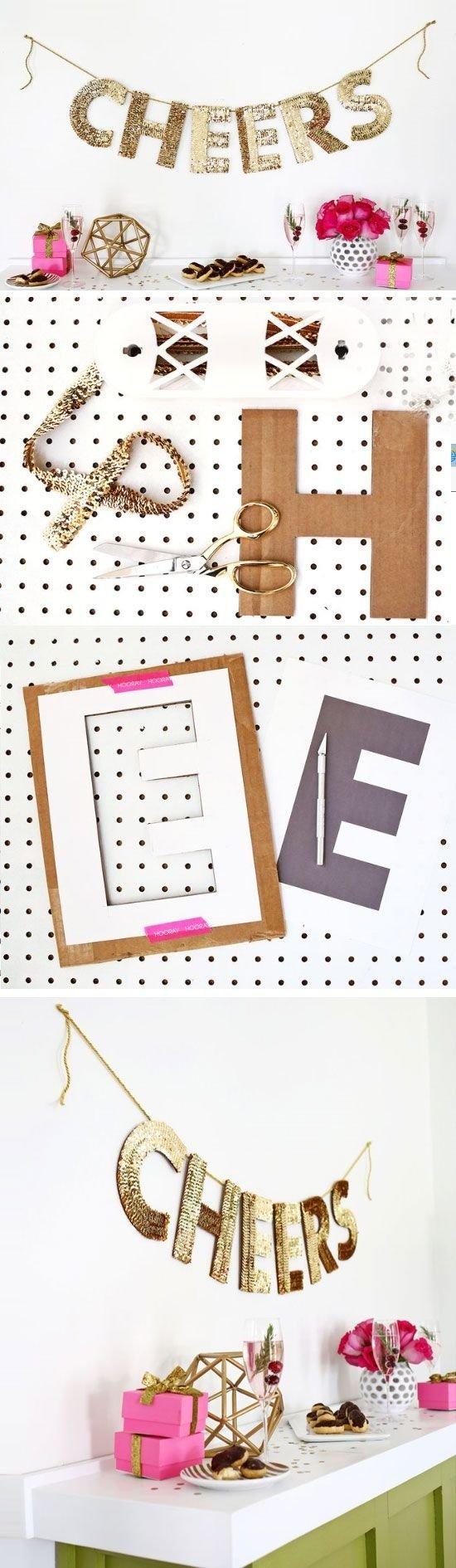 10 Lovable Last Minute New Years Eve Ideas 20 last minute new years eve party ideas garlands sequins and nye 2020