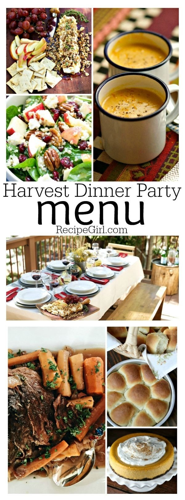 10 attractive dinner party menu ideas for 20
