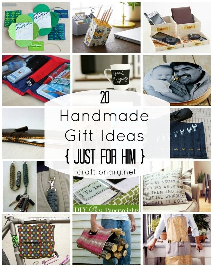 20 men gift ideas {just for him | men gifts, bookmark ideas and