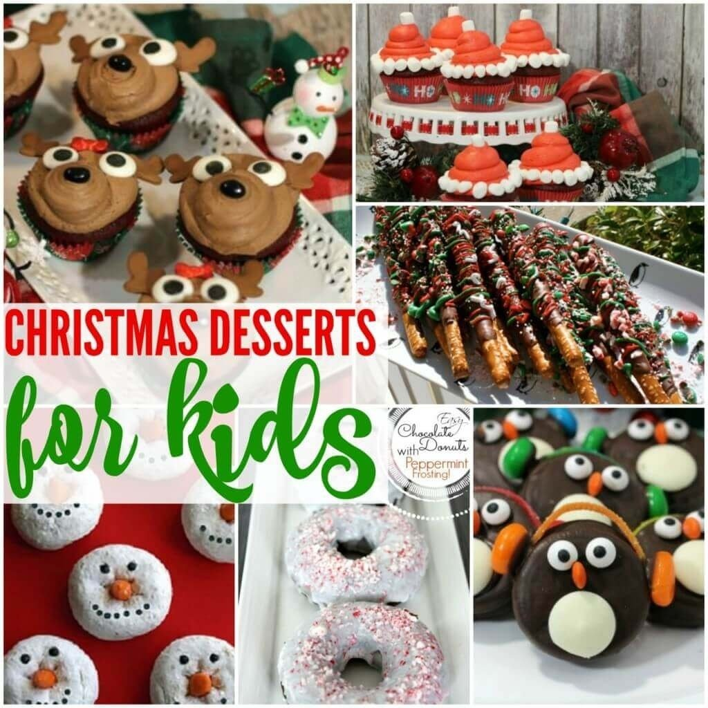 10 Attractive Christmas Treat Ideas For Kids 20 most creative christmas dessert ideas for kids 1