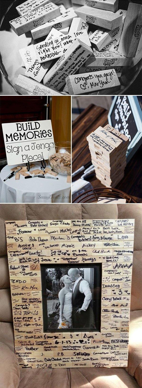 10 Most Recommended Alternative Wedding Guest Book Ideas 20 must see non traditional wedding guest book alternatives 2