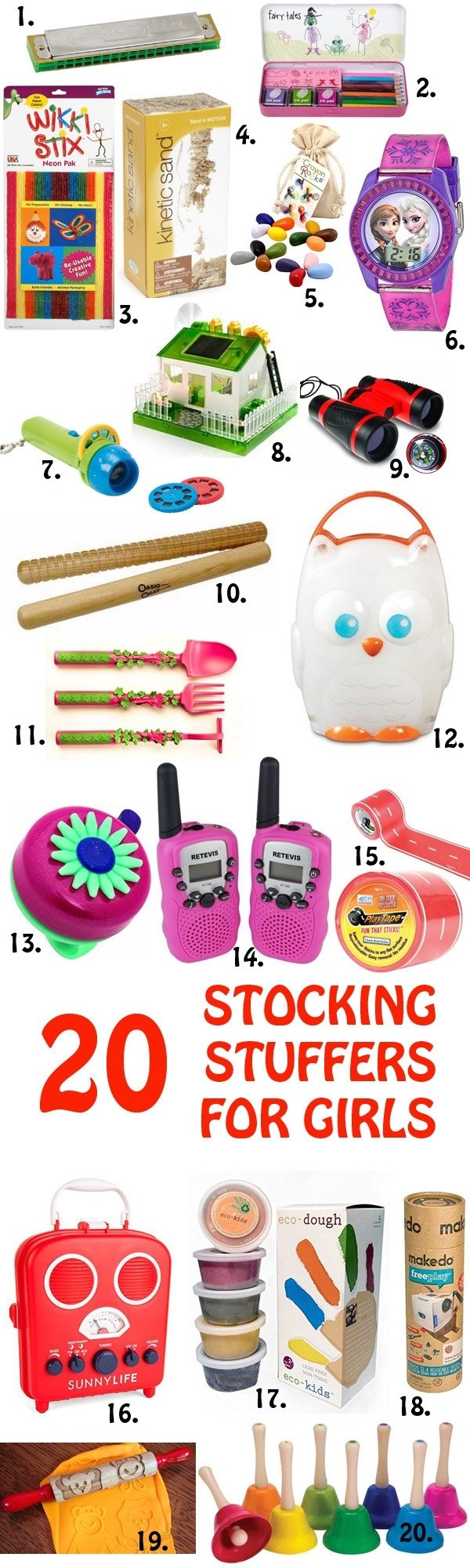 10 Nice Christmas Stocking Ideas For Kids 20 non candy stocking stuffers for boys and girls non toy gifts 2020