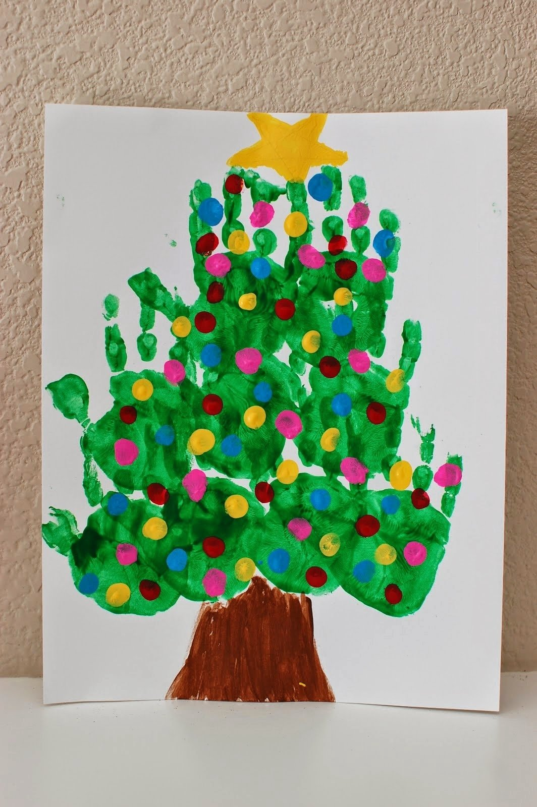 20 of the cutest christmas handprint crafts for kids -