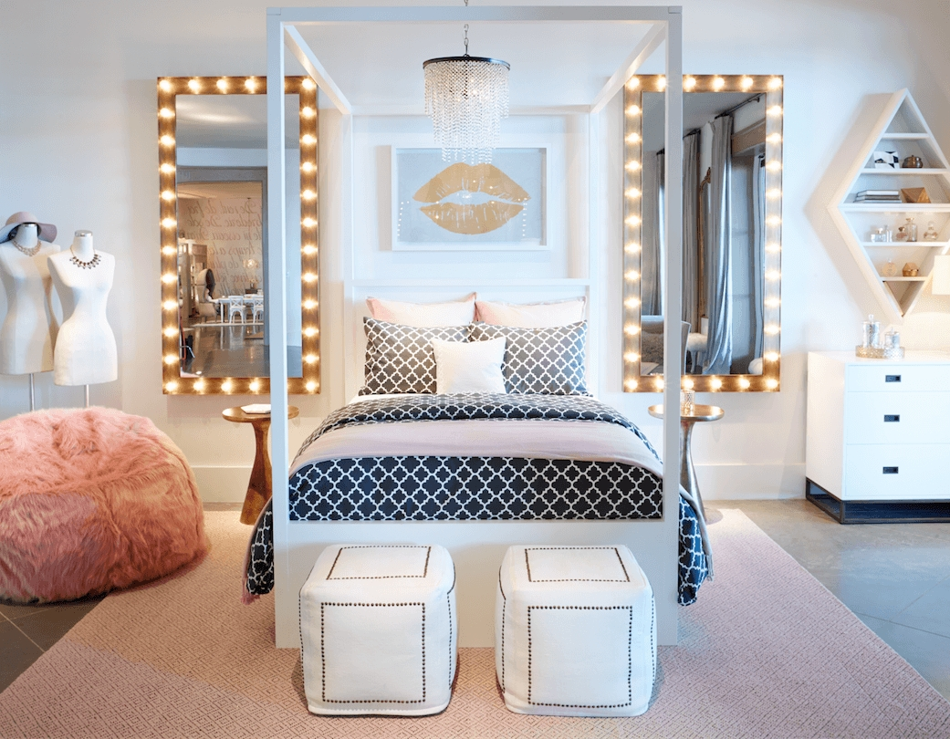 10 Amazing Teenage Bedroom Ideas For Girls 20 of the most trendy teen bedroom ideas bedrooms change and easy 1
