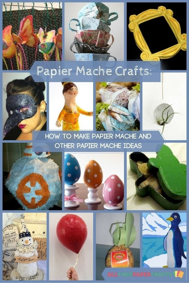 10 Spectacular Paper Mache Ideas For Adults 20 papier mache crafts how to make papier mache and other papier 1