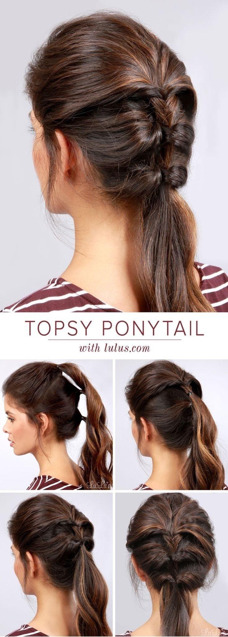 10 Fantastic Cute Ponytail Ideas For Medium Hair 20 ponytail hairstyles discover latest ponytail ideas now 2 2020