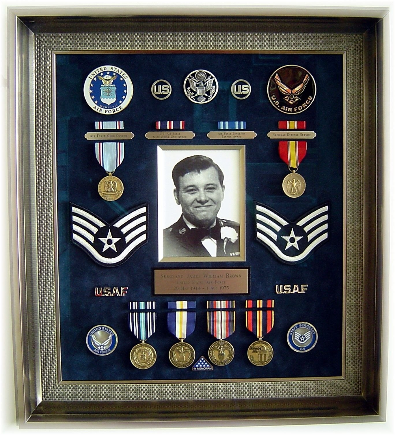10 Trendy Air Force Shadow Box Ideas 20 shadow box ideas cute and creative displaying meaningful 2 2021