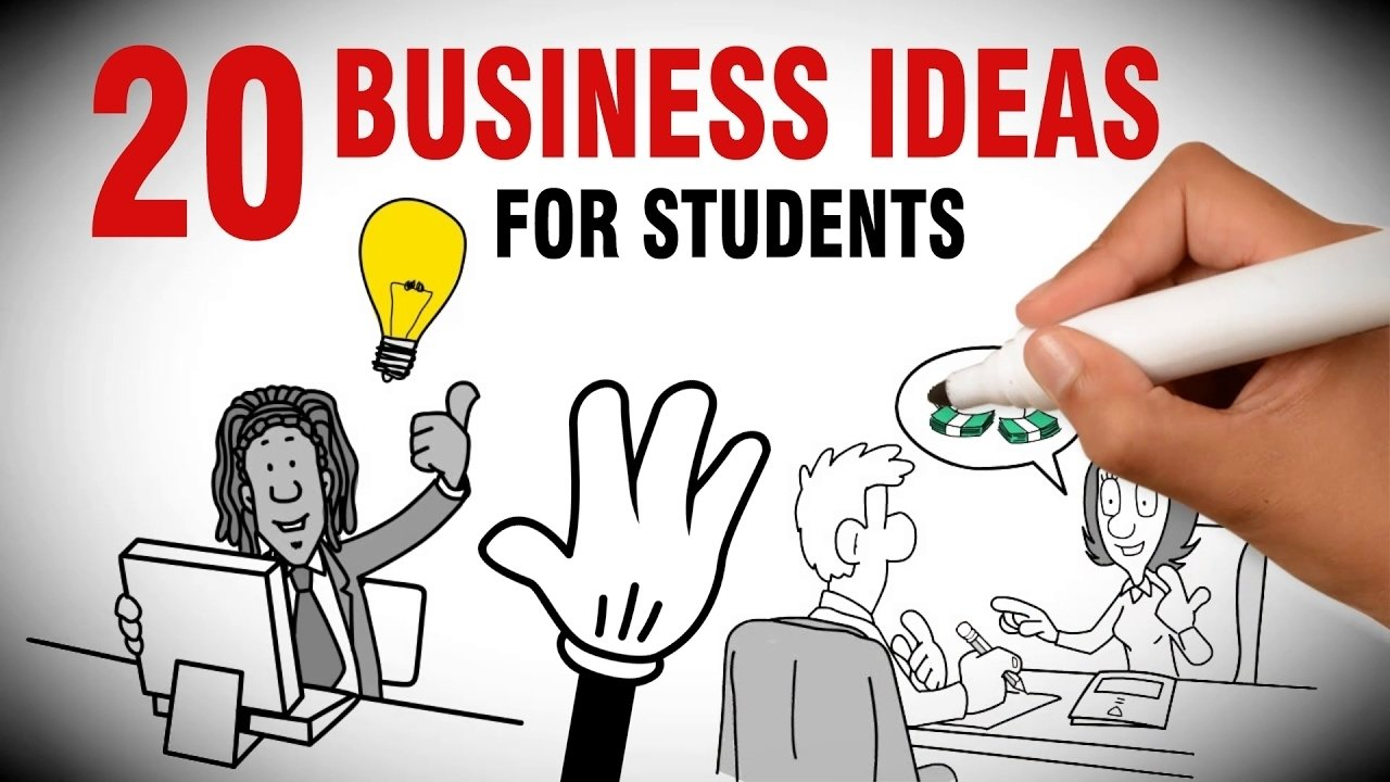 10 Stylish Business Ideas For College Students 20 small business ideas for college students youtube 1