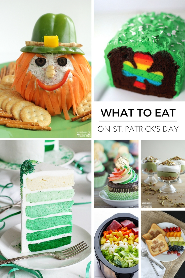 10 Stunning St Patrick Day Food Ideas 20 st patricks day food ideas handmade in the heartland 2020