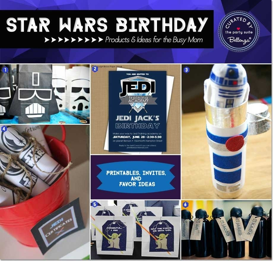 10 Trendy Star Wars Party Favor Ideas 20 star wars party ideas for the busy mom 1 2020