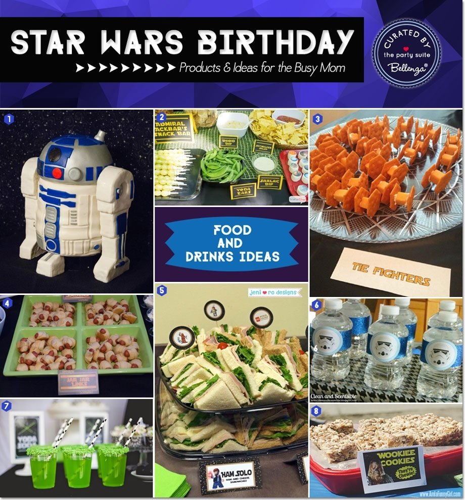 20 star wars party ideas for the busy mom