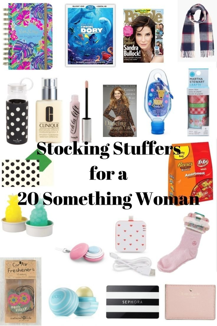 20 stocking stuffer ideas for a 20 something woman | stocking