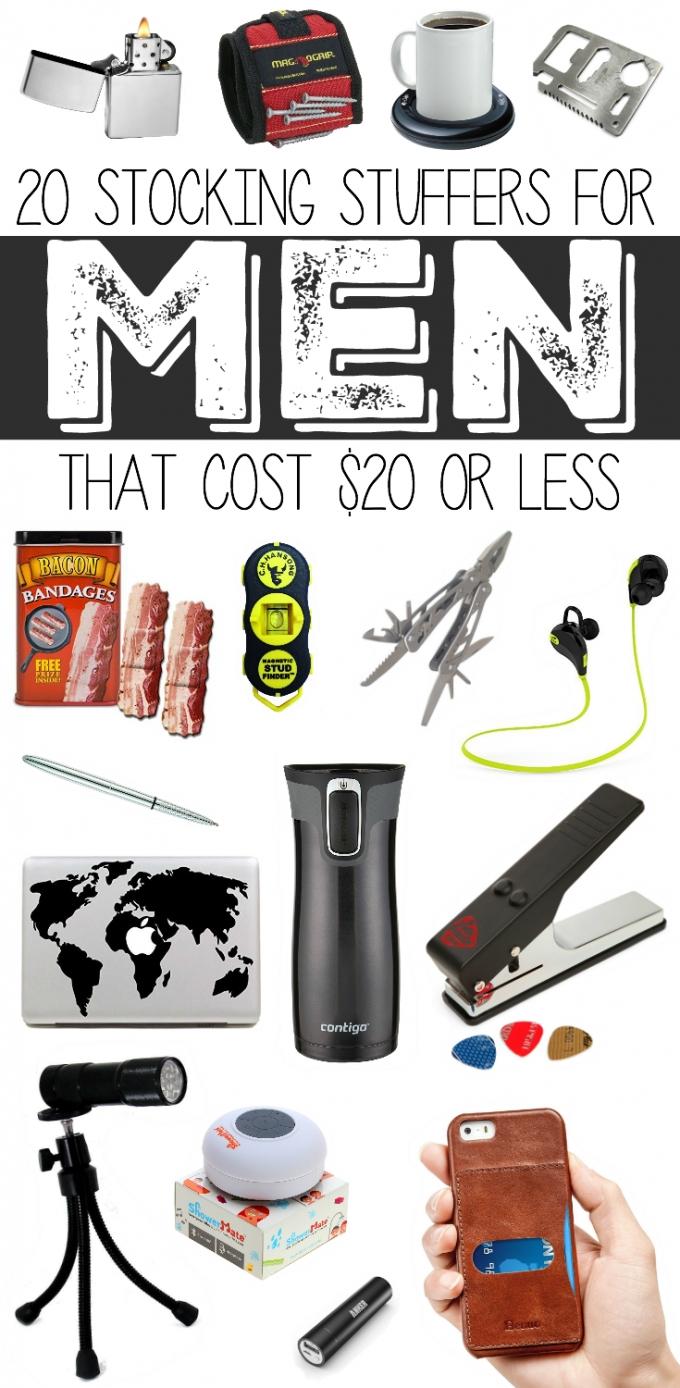 10 Fabulous Stocking Stuffers For Men Ideas 20 stocking stuffers for men under 20 stocking stuffers 3 2020