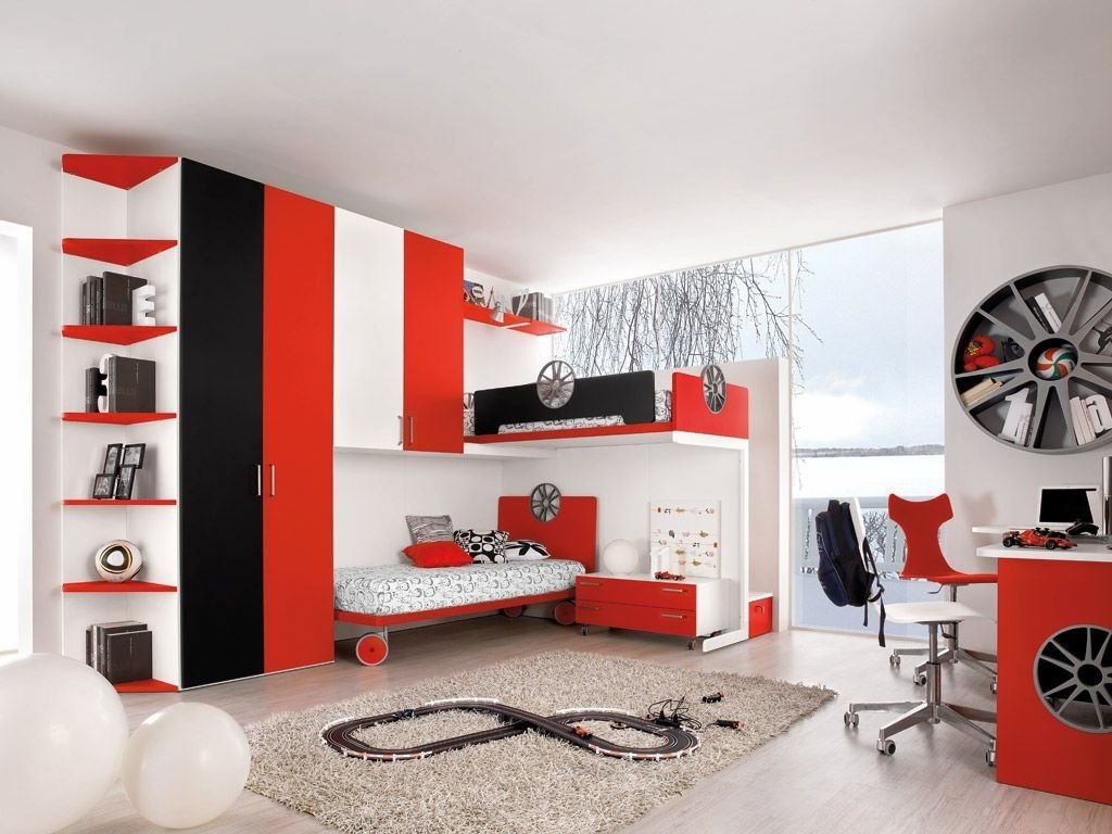 10 Cute Red Black And White Room Ideas 20 striking red black and white bedroom ideas 1 2020