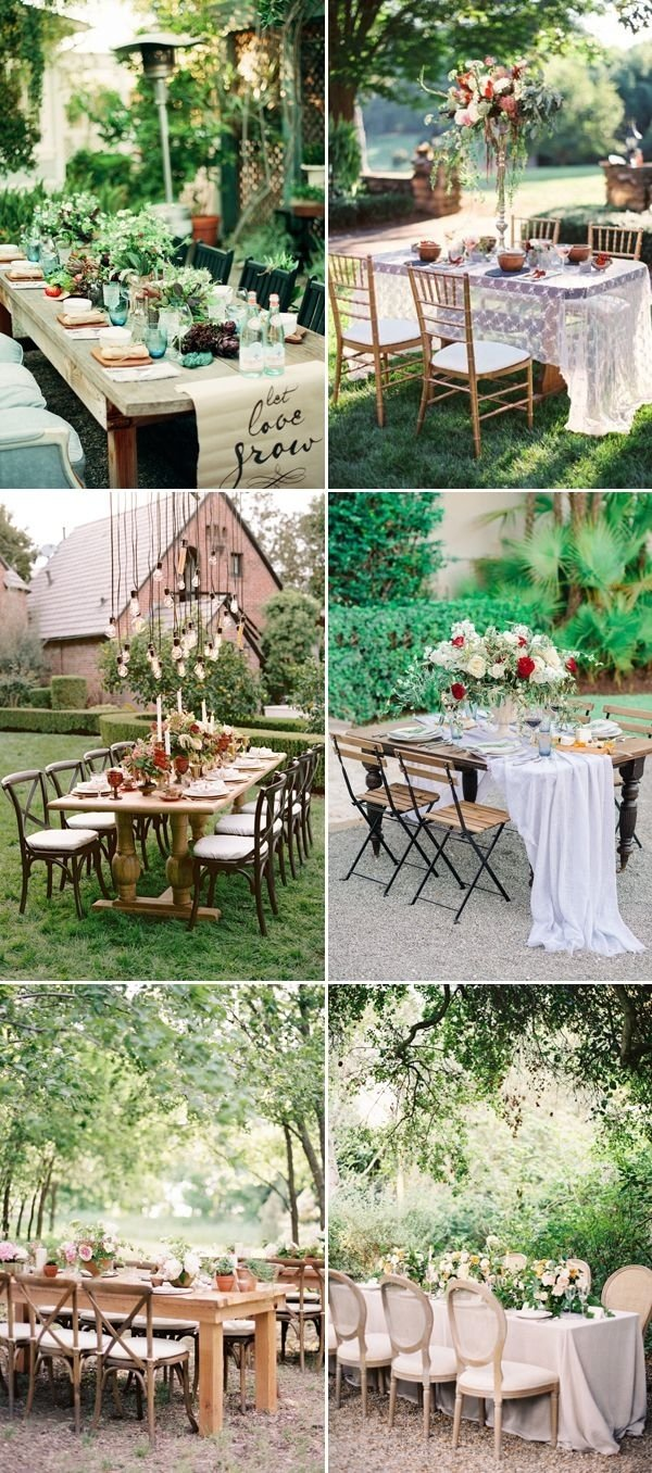 10 Ideal Wedding Ideas For Small Weddings 20 sweet reception table decor ideas for small intimate weddings 2021