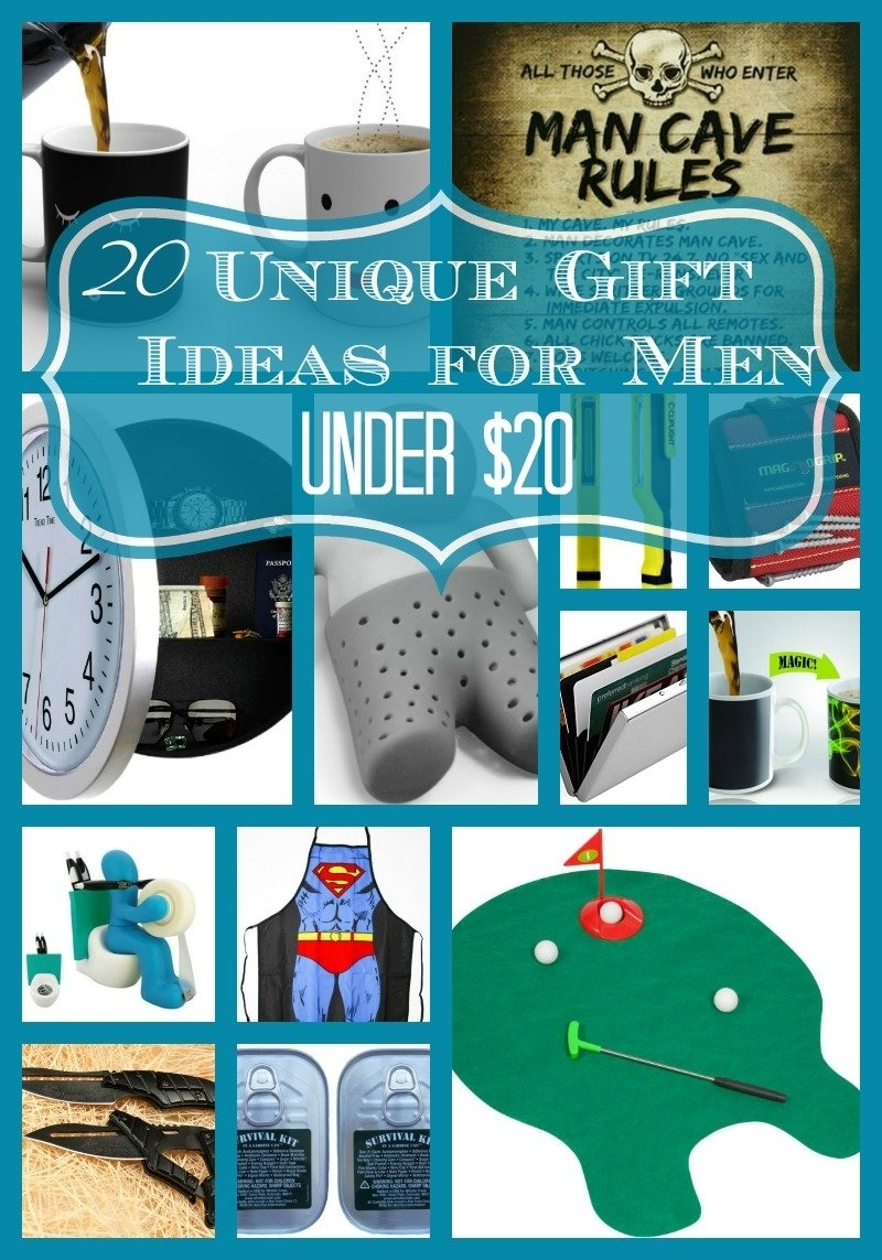 10 Beautiful Awesome Gift Ideas For Guys 20 unique gift ideas for men under 20 each 10 2020
