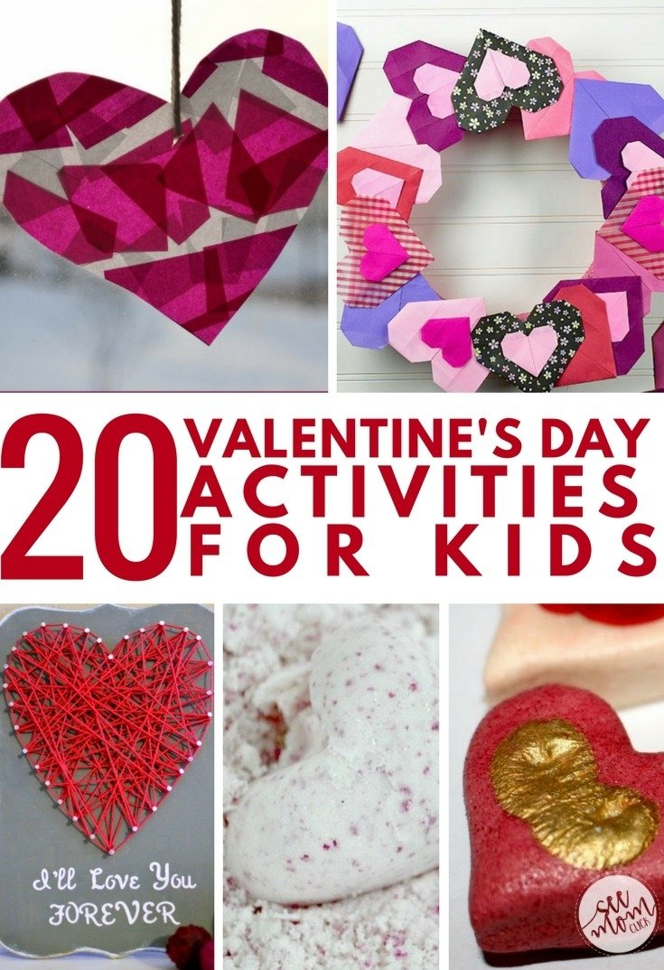 10 Most Popular Fun Ideas For Valentines Day 20 valentines day activities for kids see mom click 2021
