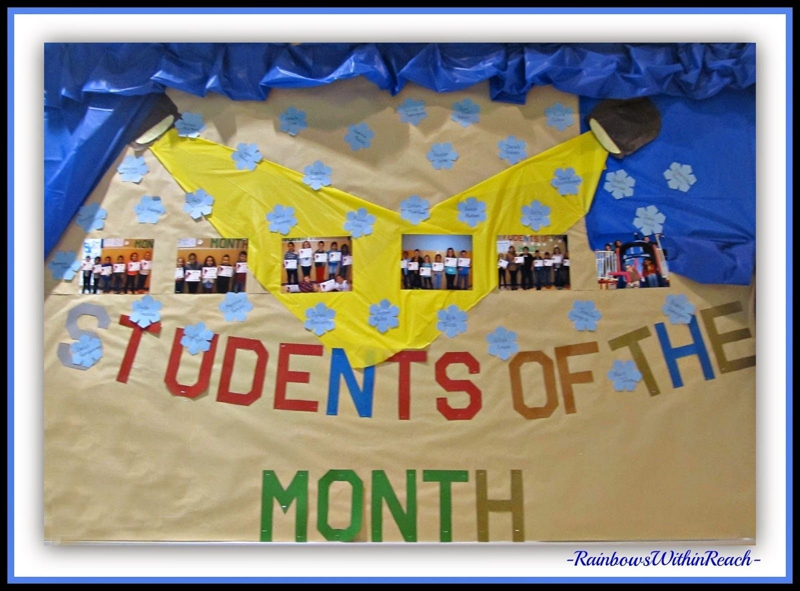 10 Nice Student Of The Month Ideas 200 back to school bulletin boards and decorated classroom doors 1 2020