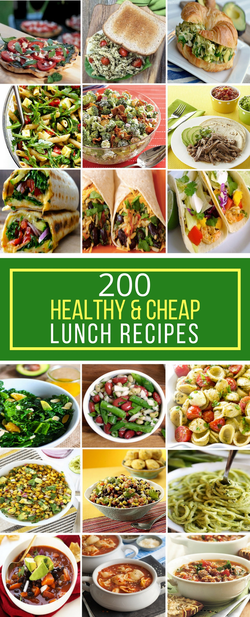 10 Fantastic Cheap And Healthy Dinner Ideas 200 healthy cheap lunch recipes prudent penny pincher 1 2020