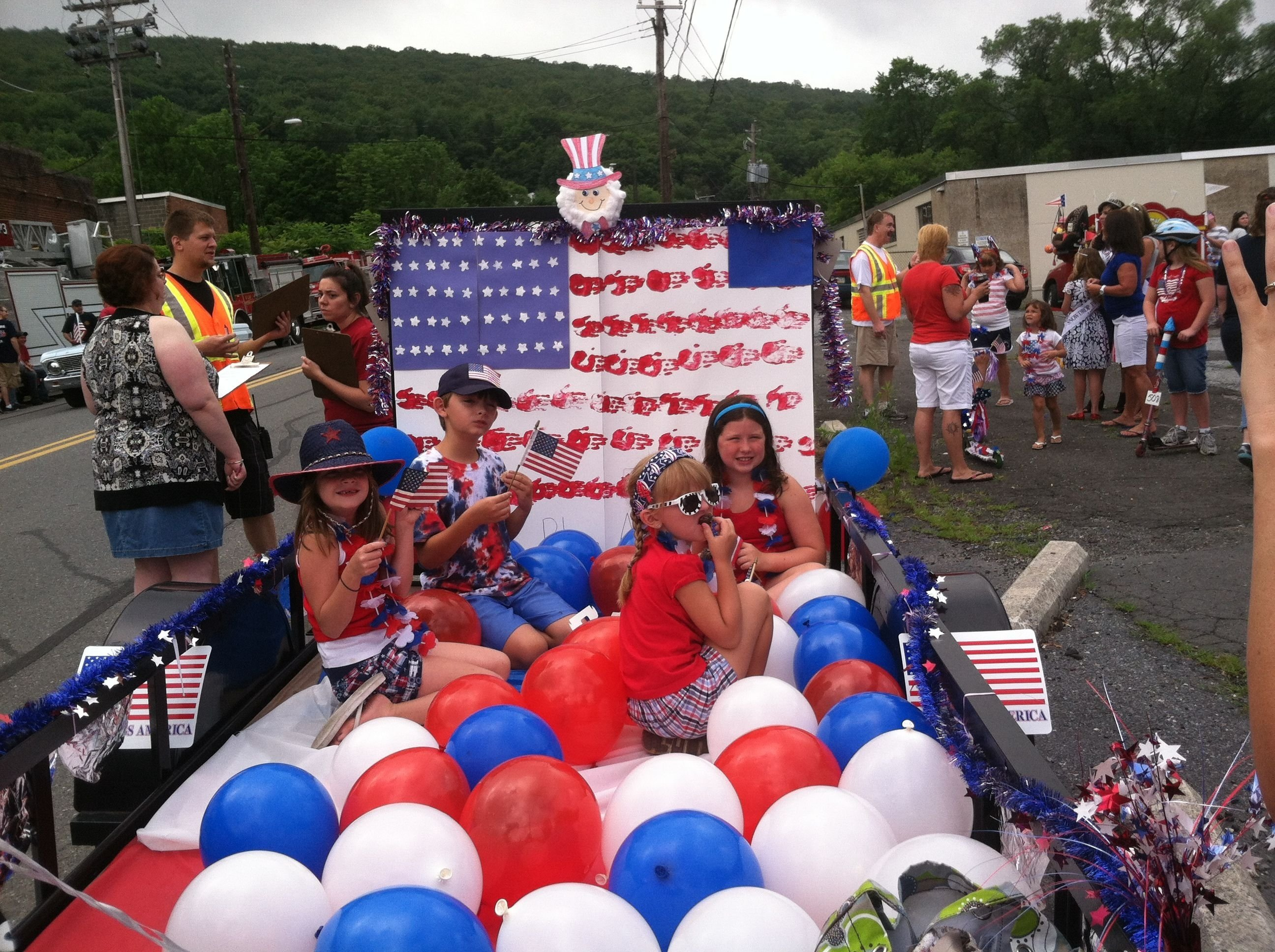 2013 4th of july parade float 2nd place win! | summer patriotic